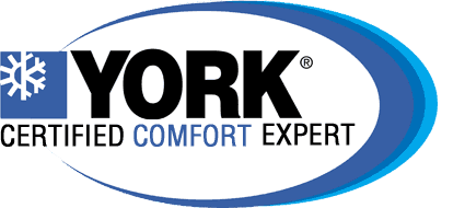 Men @ Work Heating & Cooling in Auburn, IN is a York Certified Comfort Expert.
