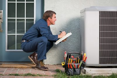 For air conditioner repair in Fort Wayne, IN, contact Men at Work!